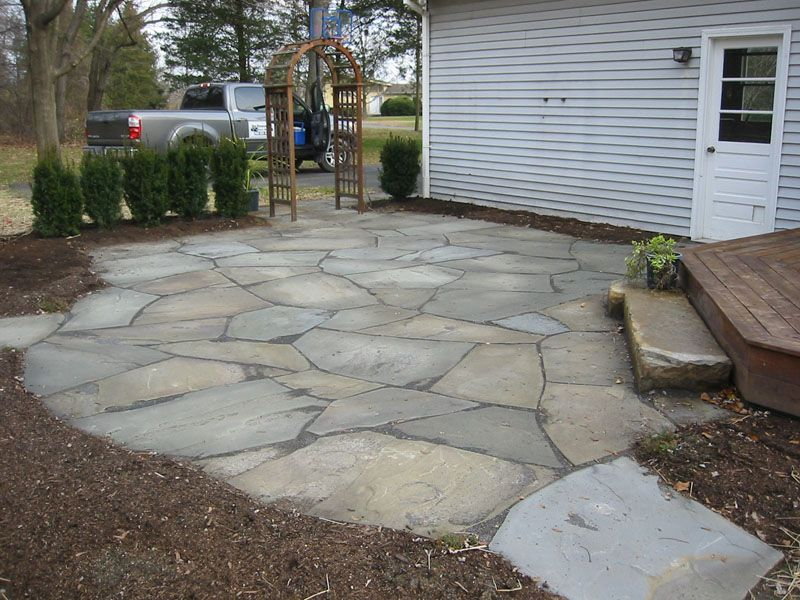 ... Flagstone Natural Flagstone Patio Lg ...