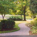 path made of pavers