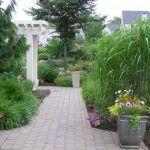 garden paver path