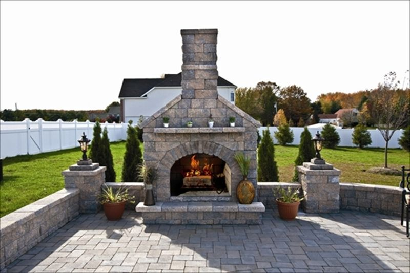 Using pavers or natural stone